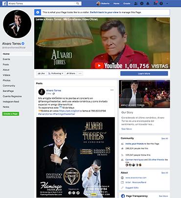 Alvaro Torres Facebook