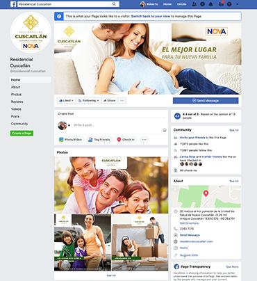Facebook Residencial Cuscatlan